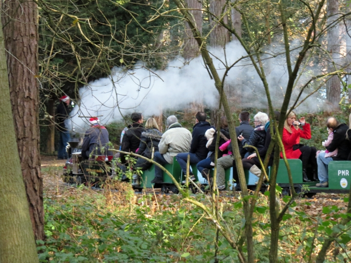 Pinewood Miniature Railway - Santa Specials