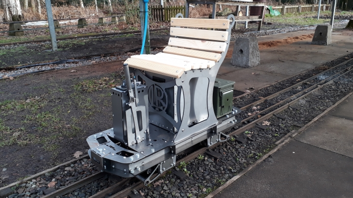 The 'ELF', a powered trolley