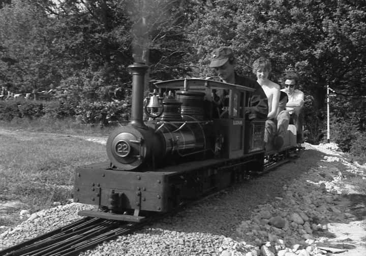 35 years ago Bentley Miniature Railway opened