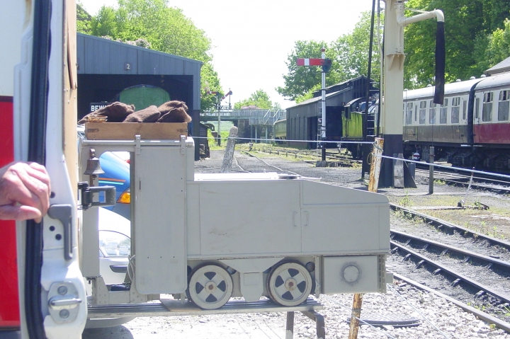 Fritz visits Bodmin and Wenford Railway