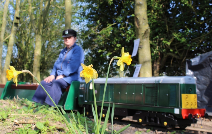 1940's event at Top Field Light Railway