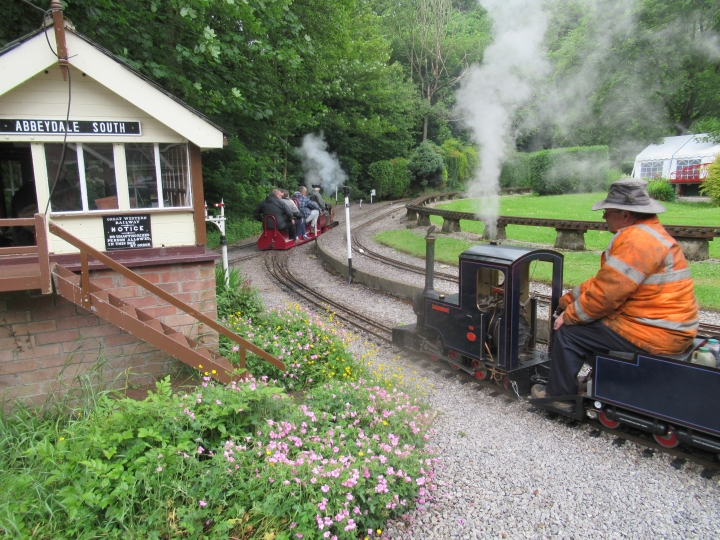 Sheffield Model Engineers hold the Sweet Pea Rally at Abbeydale