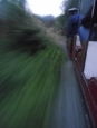 Woodseaves Miniature Rly-Jean at speed