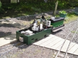 Mizens Railway visiting loco day
