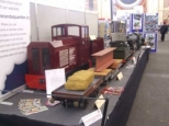 PART OF OUR STAND AT ALLY PALLY 2012