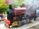 Jessie  Sir David in steam