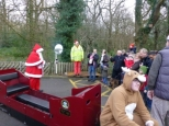SANTA ARRIVES AT ABBEYDALE