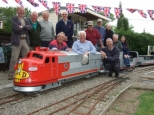 wednesday runs at littlethorpe miniature railway