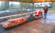 Santa preparing to Depart