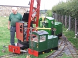 Re-railing a loco