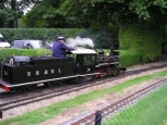 Audley End 10 1/4 guage railway