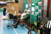 B&CDMRS Standat the Bangor Model Railway Exhibition