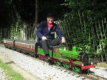 N.E.R. C CLASS VISITS ABBEYDALE MINIATURE RAILWAY AT SHEFFIELD