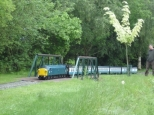 Roy's Class 40 on the Ashmanhaugh bridge 28/5/14