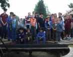 Junior Day at Summerfields Miniature Railway