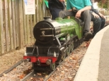 The first steam loco to run at Swanley