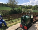 Ellis visits private railway