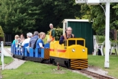 High Legh Railway's New Loco