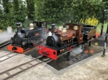 Cackler & Charles at Rugby Narrow Gauge Event
