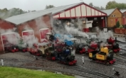 50th Anniversary Tinkerbell Rally at Moors Valley Railway