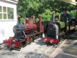 Little Dale Light Railway RNLI rund raising event
