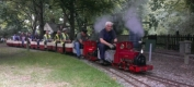 3inch Hunslets Double-heading at Bentley Miniature Railway