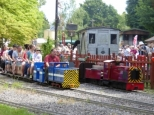 Mizens railway and Knaphill fete