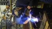 Welding Loco Build HSME