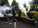 Plenty of steam, using our coal, at Parklands